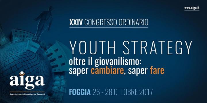 XXIV Congresso Ordinario AIGA Foggia